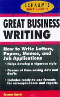 Schaum's Quick Guide to Great Business Writing артикул 13618d.