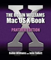 The Robin Williams Mac OS X Book, Panther Edition артикул 13617d.